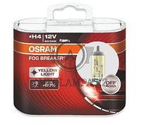 """62193FBR-HCB Лампа """"+60%"""" света 2600К H4 12V 60/55W P43t FOG BREAKER уп.2шт"""