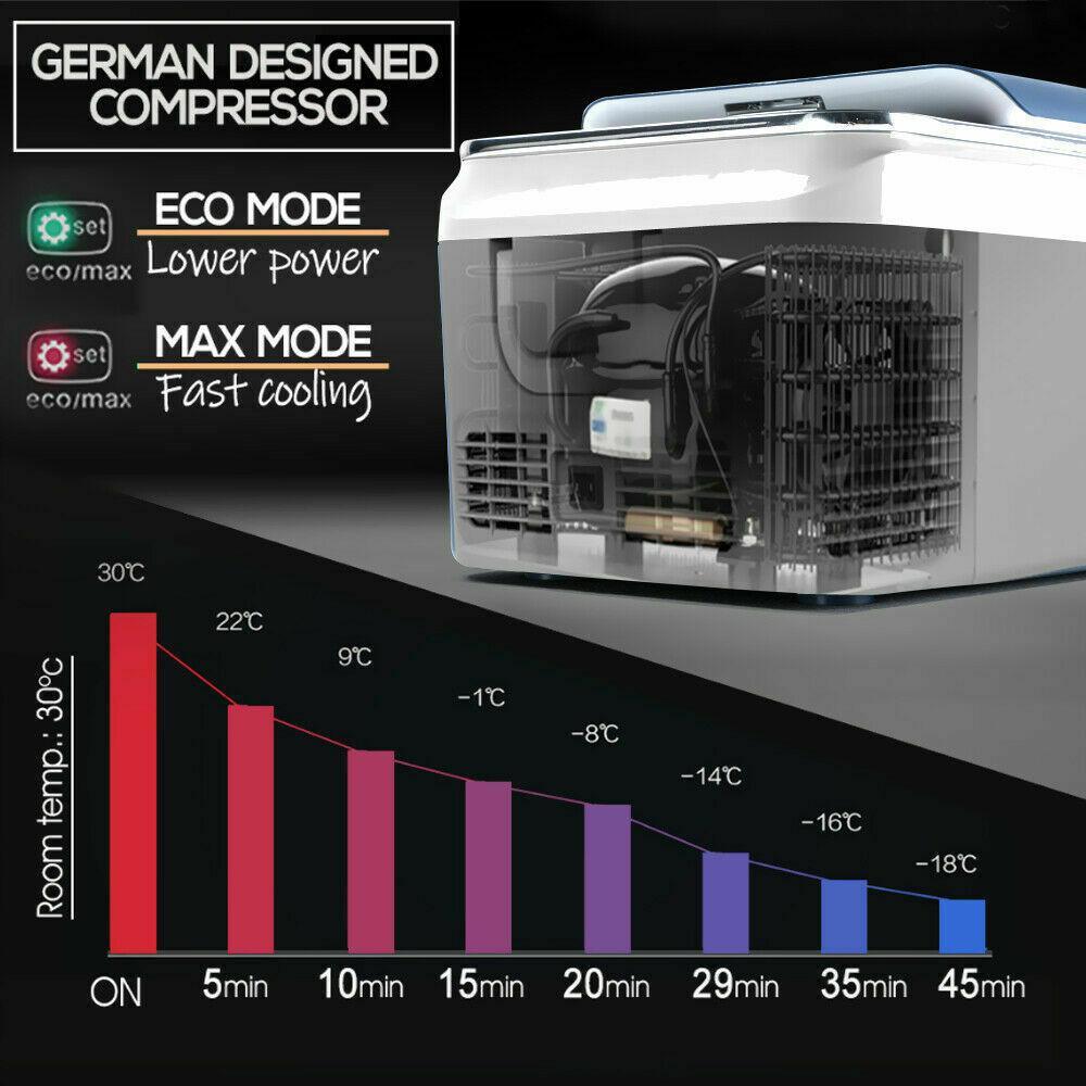 Автохолодильник 20 л (компрессорный) автоморзильник - фото 8