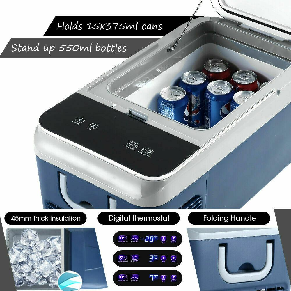 Автохолодильник 20 л (компрессорный) автоморзильник - фото 9