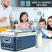 Автохолодильник 18 л  (компрессорный) автоморзильник, фото 3