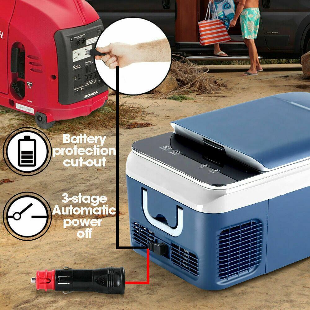 Автохолодильник 20 л (компрессорный) автоморзильник - фото 4
