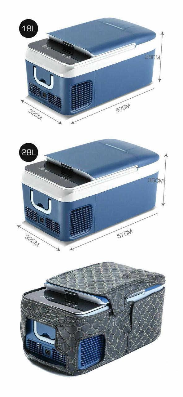 Автохолодильник 20 л (компрессорный) автоморзильник - фото 10