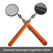 Выдвижной автомобильный телескопический зеркало