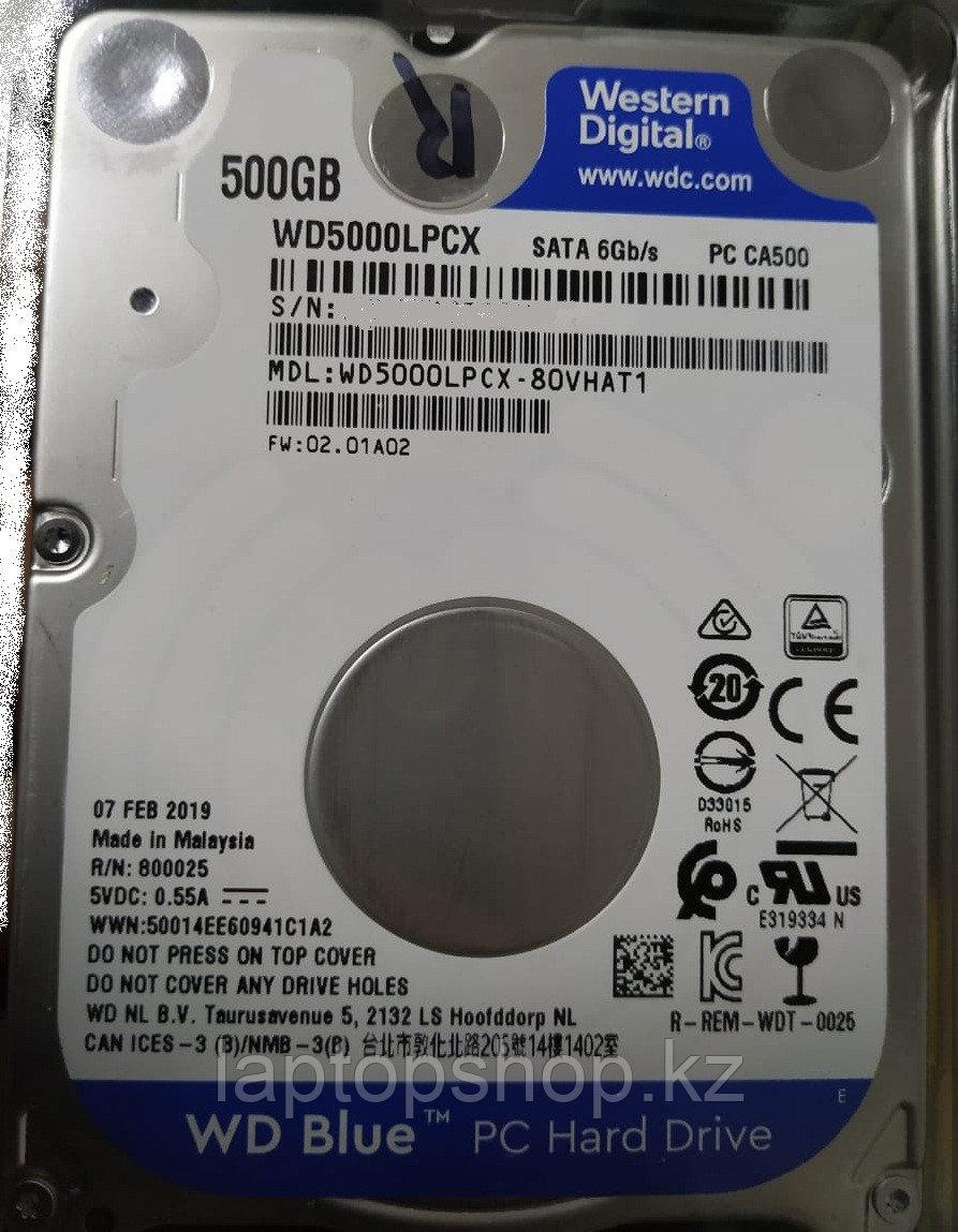 Жесткий диск HDD Western Digital 500Gb 2.5'' WD5000LPCX