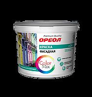 Краска водорастворимая ВДАК фасадная атмосферостойкая (база А), 12.96 кг (9 л), Ореол