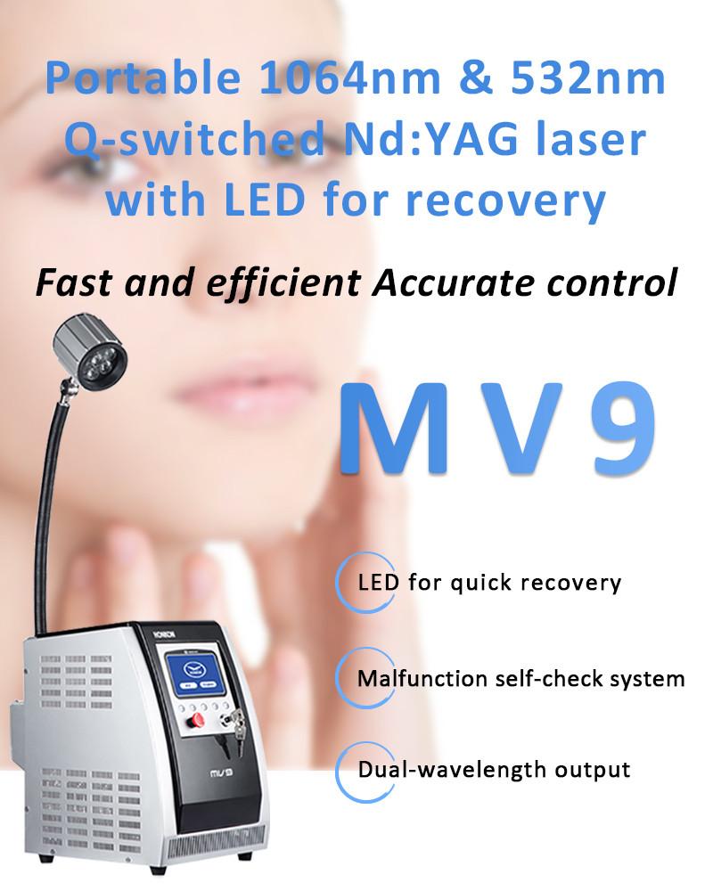 Аппарат YAG -Lazer 1064nm & 532nm Q-switched