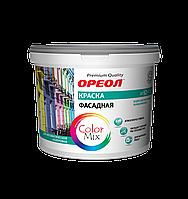Краска водорастворимая ВДАК фасадная атмосферостойкая (база С), 2.8 кг (2.2 л), Ореол