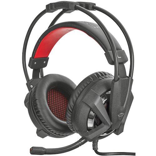 Наушники гарнитура игровая Trust GXT 353 Vibration Headset for PS4 (Black)
