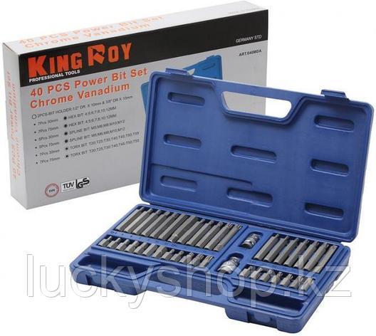 Инструменты KING ROY 40 предметов, фото 2