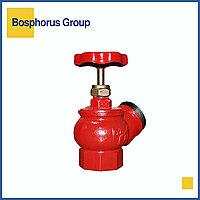 Кран (клапан) пожарный чугунный муфта-цапка Ду 50 (КНР)