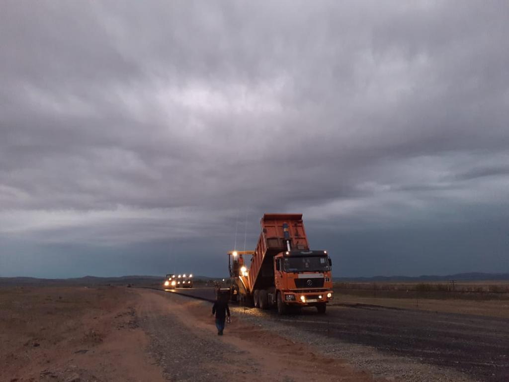 Асфальтирование дорог в Алматы 2