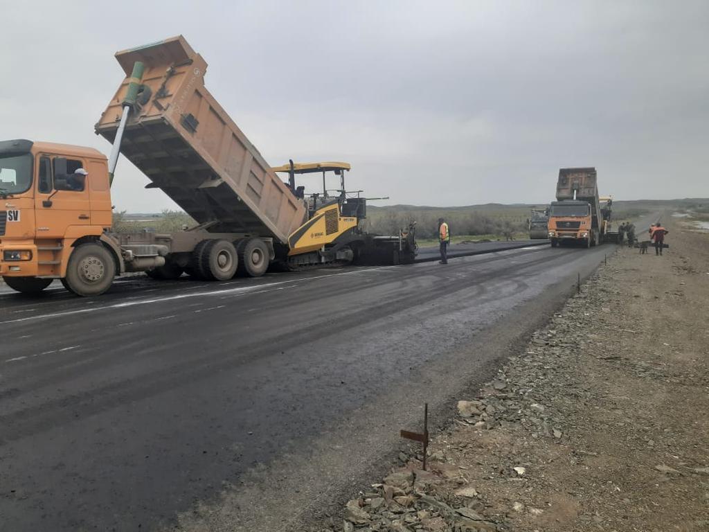 Асфальтирование дорог в Алматы 6
