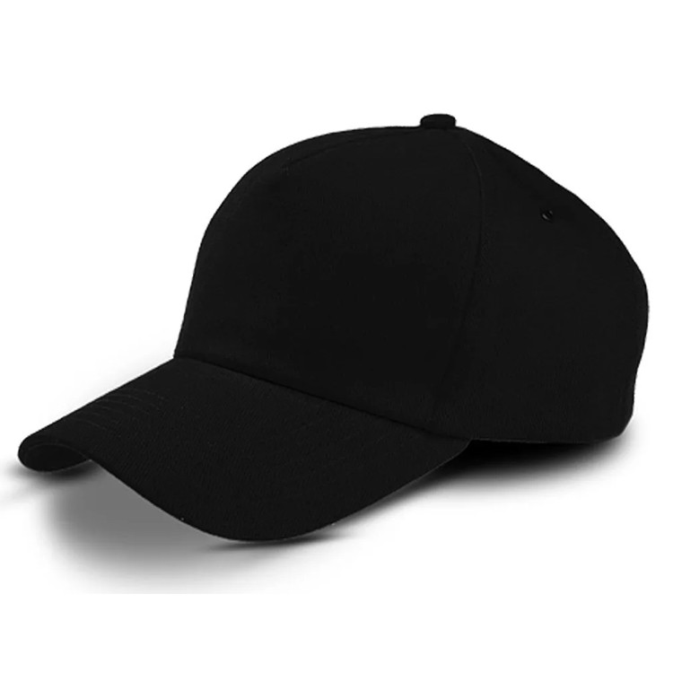 Бейсболка - 100% Х/Б, цвет черный