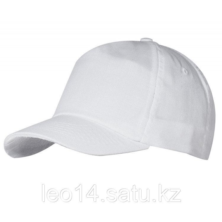 Бейсболка - 100% Х/Б, цвет Белый