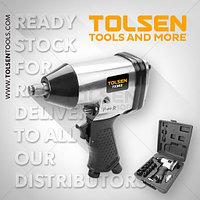 Набор для воздушного воздйствия /  Air impact wrench set 17pcs Tolsen