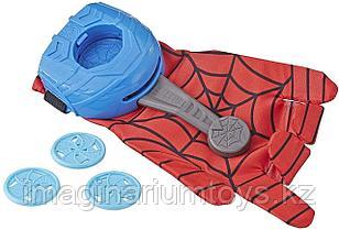 Перчатка Человека-паука стреляющая дисками