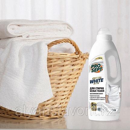 Crystal - жидкий стиральный порошок для стирки белых и светлых тканей.1 литр. РФ, фото 2