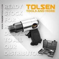 Набор воздушный молоток / 9pcs air hammer set (Hex) Tolsen