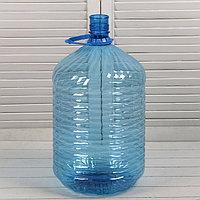 ПЭТ-бутыль, 18,9 л, одноразовая, с ручкой
