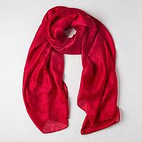 Палантин текстильный PC3972_16, цвет красный, размер 110х188