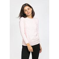 Джемпер геометрия, размер 42, цвет розовый