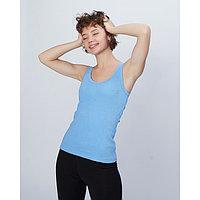 Майка женская MINAKU, размер 42, цвет голубой
