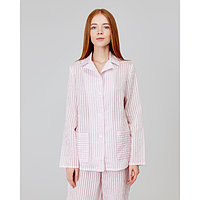 Рубашка женская MINAKU: Light touch цвет розовый, р-р 54