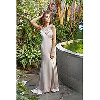 "Платье женское MINAKU ""Adele"", размер 46, цвет бежевый"