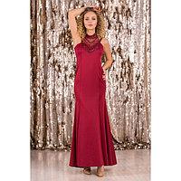 """Платье женское MINAKU """"Adele"""", размер 42, цвет бордовый"""