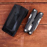 Инструмент многофункциональный 9в1 в чехле, рукоять черная