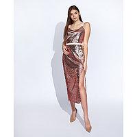 """Платье женское MINAKU """"Эстер"""", размер 42, цвет розовое золото"""