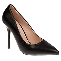 Туфли лодочки женские, цвет чёрный, размер 35