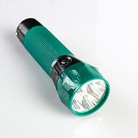 Фонарик аккумуляторный Light, 4 диода, микс