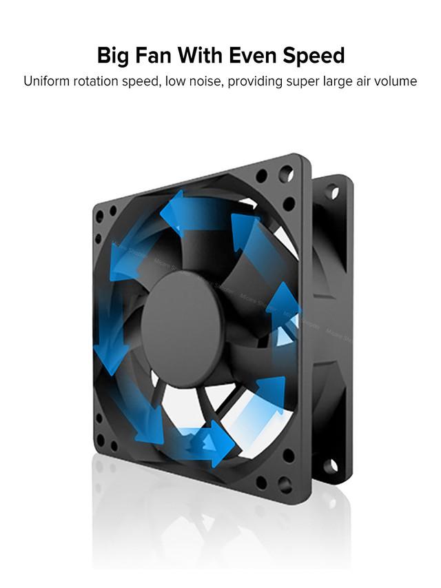 большой вентилятор в мини кондиционере