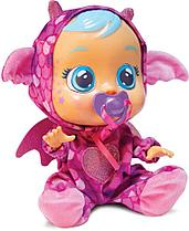 "Cry Babies плачущая интерактивная кукла Край Беби ""Бруни дракоша"""