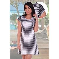 Туника женская «Штрих», цвет серый меланж, размер 44