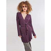 Кардиган женский, цвет фиолетовый, размер 48 (L)