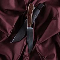 Нож Пчак Шархон - охотничий, текстолит 11 см прямой, клинок заточка от середины