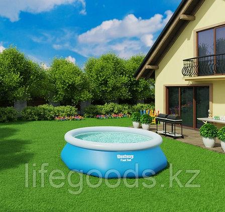 Надувной бассейн круглый 305x76 см, Bestway 57266, фото 2