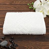 Полотенце махровое Plait 70х130 см, цвет белый