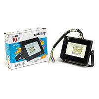 Прожектор светодиодный Smartbuy FL SMD LIGHT, 10 Вт, 6500 К, 550-800Лм, IP65, холодный белый