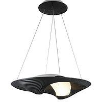 """Люстра потолочная """"Лора"""" 45Вт LED черный, белый 57x57,5x20см"""
