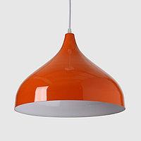 Светильник 5253 1х15Вт Е14 оранжевый 32х32х25см
