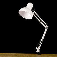 Настольная лампа на струбцине Е27 60Вт шнур 1,5м.