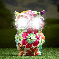 """Садовый светильник """"Птица"""" на солнечной батарее, 15 см"""