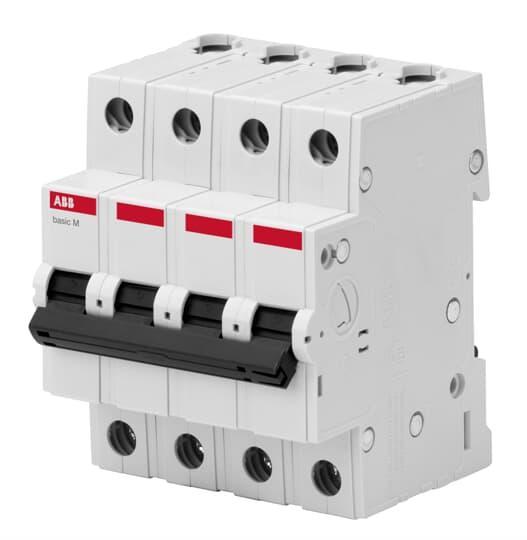 2CDS644041R0634 Автоматический выключатель 4P 63A C 4.5кА BMS414C63