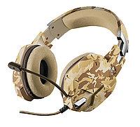 Наушники-гарнитура игровая Trust GXT 322D Carus Headset (Desert Camo)