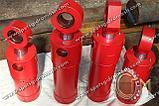 Гидроцилиндр перемещения манипулятора мусоровоза КО-424/431, КО-413, КО-415 ГЦ 80.50.250.240.00, фото 2