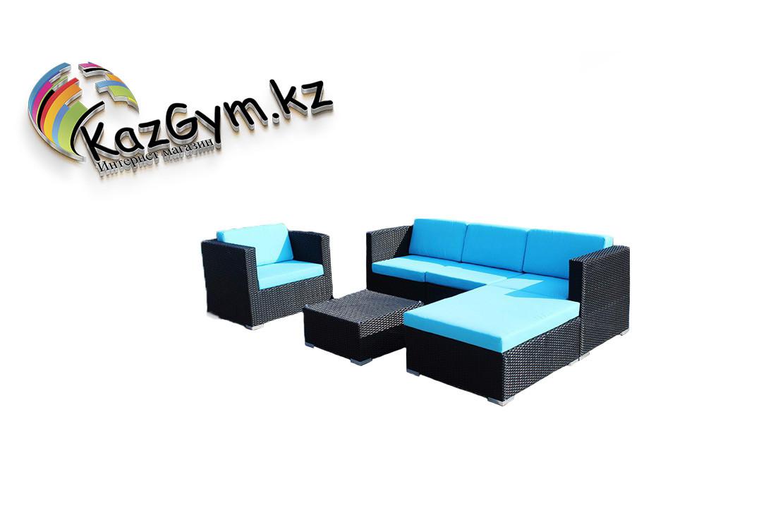 "Комплект мебели ""Оттава"" (голубой/бежевый)"