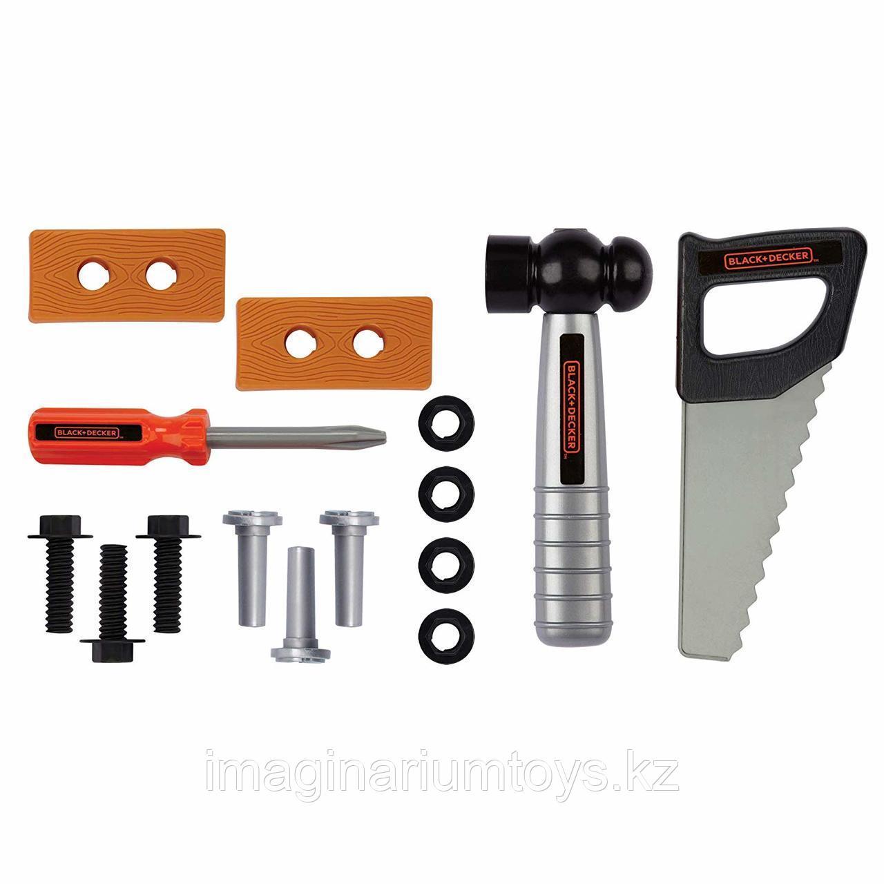Развивающий игровой набор «Столярные инструменты» Black&Decker